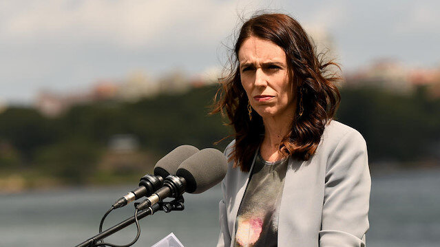 File photo: New Zealand Prime Minister Jacinda Ardern