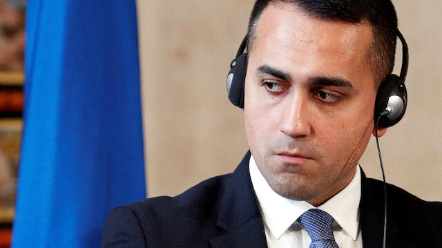 FILE PHOTO: Italian Foreign Minister Luigi Di Maio
