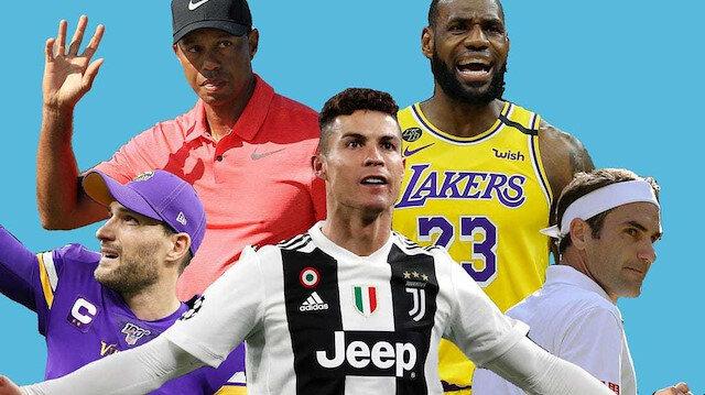 Dünyanın en çok kazanan 10 sporcusu