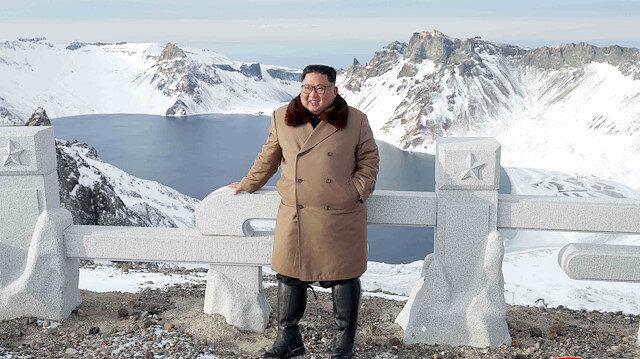 North Korean leader Kim Jong Un visits battle sites in areas of Mt Paektu