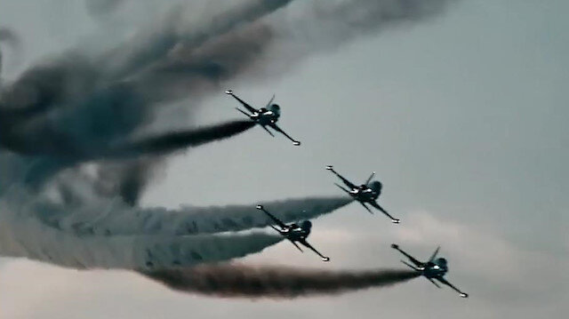 Turkey's 'steel wings': Defense Ministry marks 109th anniversary of Air Force Command with spectacular video