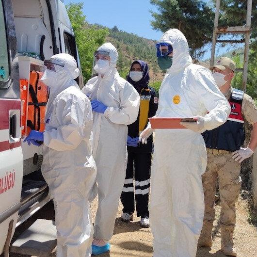 Gaziantep'te bayram ziyaretine giden hastanın ailesinden 5 kişi hastaneye kaldırıldı