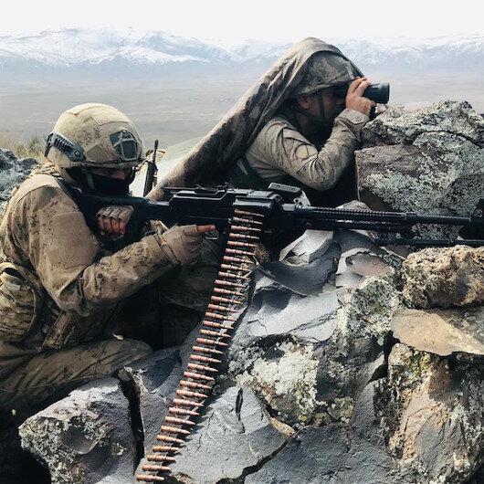 Barış Pınarı bölgesine sızma girişiminde bulunan, PKK/YPG'li 6 terörist etkisiz hale getirildi
