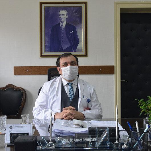 Bilim Kurulu Üyesi Demircan: Hastaların yarısı hastaneleri aşırı kullanıyor