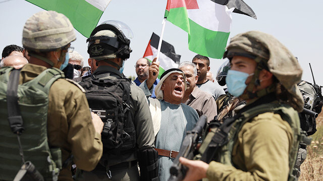 Amid Israel's plans to annex occupied West Bank, Palestinians marked the 53rd anniversary of Naksa or setback day on Friday