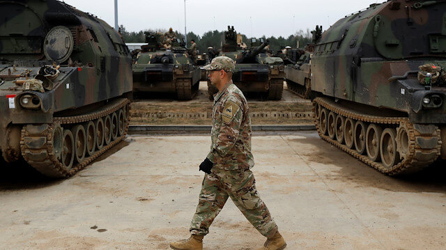 U.S. troops from 2nd Armored Brigade Combat Team
