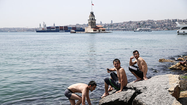 1st weekend without restrictions since April 10 in Istanbul