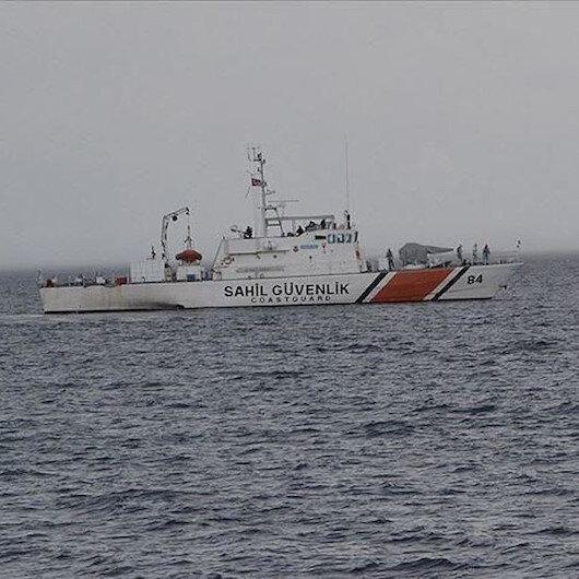 خفر السواحل التركي ينقذ 9 طالبي لجوء قبالة سواحل أنطاليا