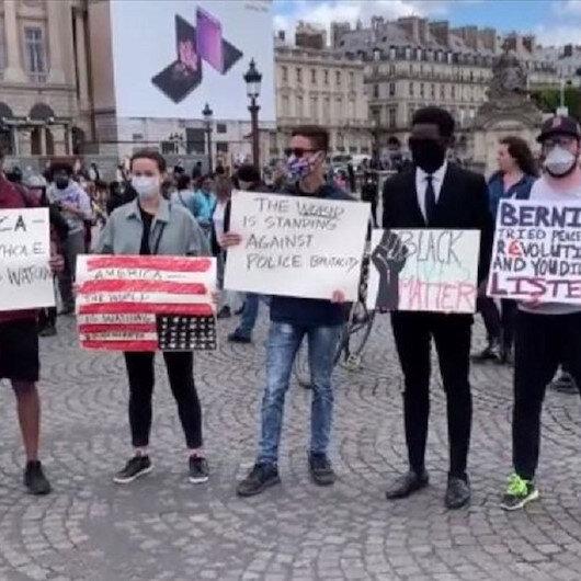 باريس.. الآلاف يتظاهرون احتجاجا على مقتل فلويد