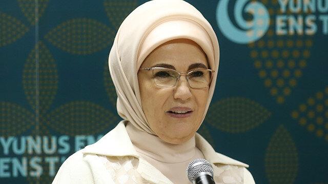 Turkey's First Lady Emine Erdoğan