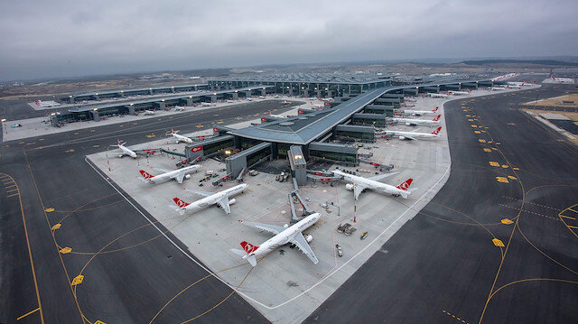 Turkey's Istanbul Airport partially resumes int'l flights
