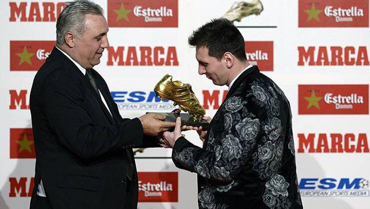 Hristo Stoichkov ile Lionel Messi
