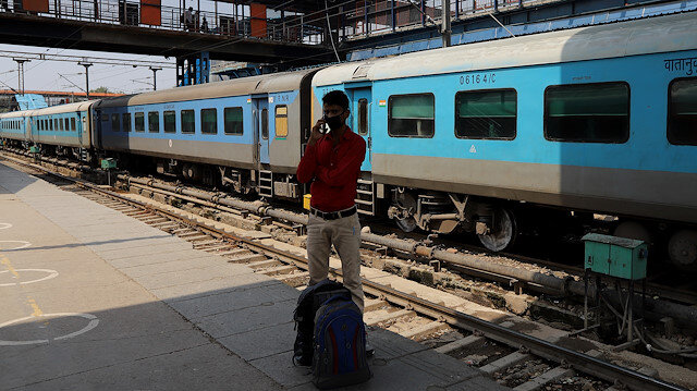 Indian Railways started its operation in New Delhi