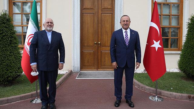 Turkish Foreign Minister Cavusoglu - Iranian Foreign Minister Zarif