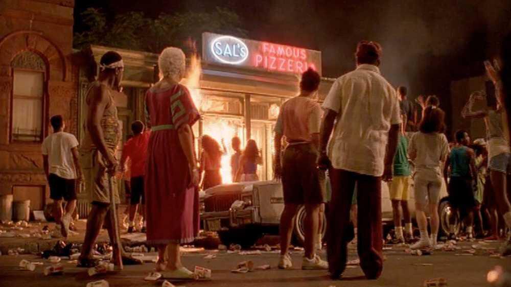Olayların gerçekleştiği pizzacı dükkanı.