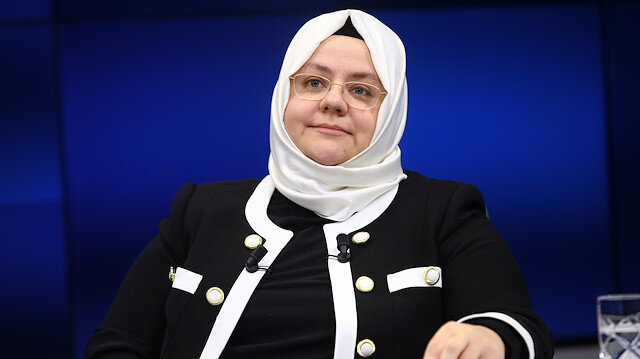 Turkish Minister of Labour, Social Services and Family Zehra Zumrut Selcuk