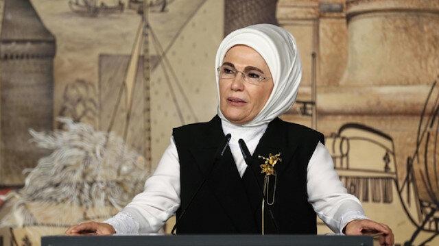 Turkish first lady Emine Erdoğan