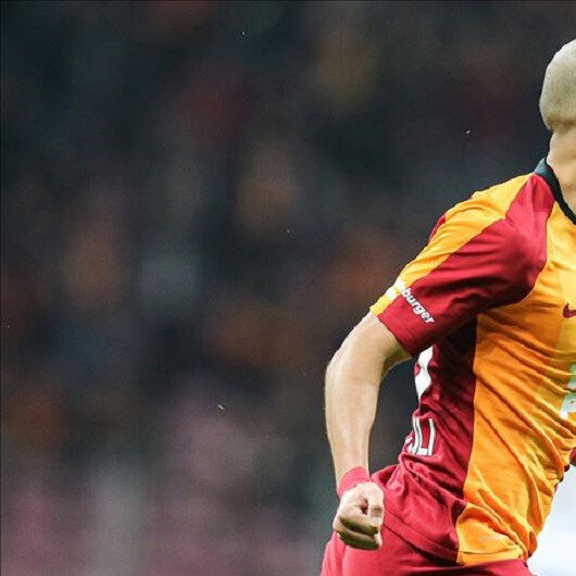 G.Saray's Feghouli shows support for Chinese Uighurs