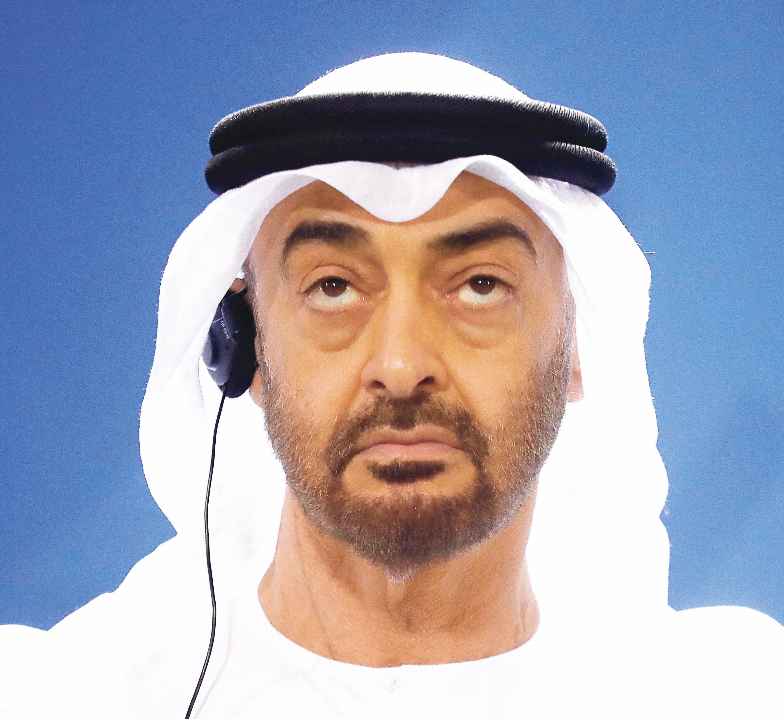 BAE Veliaht Prensi Muhammed bin Zayed