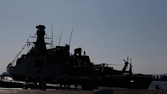 TCG Kinaliada joins Turkish Navy