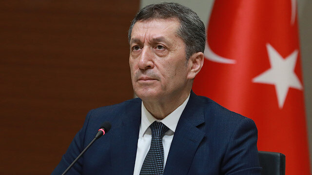 Turkish National Education Minister Ziya Selcuk