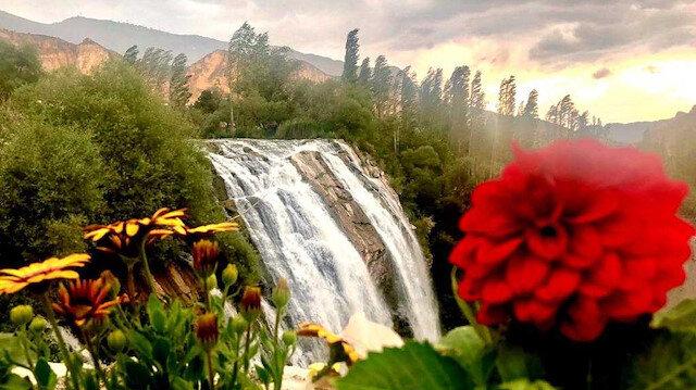 Tortum Waterfall in Turkey's eastern Erzurum province