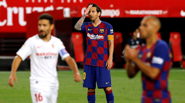 Lider Barça'ya Sevilla çelmesi