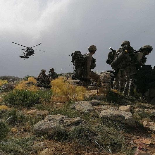 Bitlis kırsalında gerçekleştirilen hava destekli operasyonda 2 terörist etkisiz hale getirildi