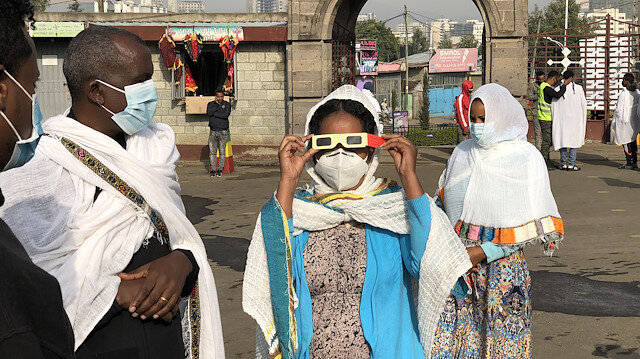Ethiopians marvel at once-in-decades solar eclipse