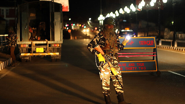 File photo: Night curfew imposed in Kashmir