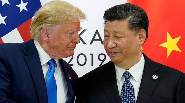 U.S. President Donald Trump meets with China's President Xi Jinping