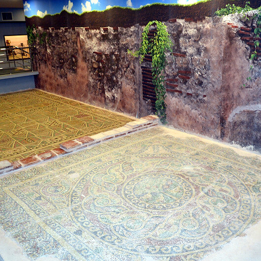 """متحف """"أماسيا"""" يعرض لوحات فسيفساء تعود للفترة الرومانية"""