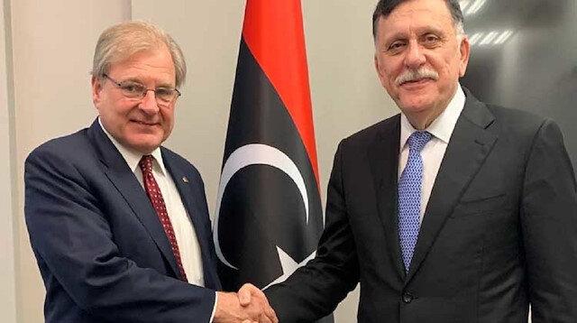 Libya's Sarraj meets AFRICOM commander