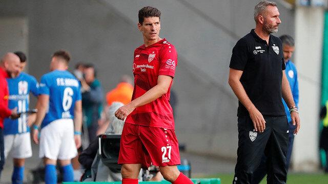 Beşiktaş'ın eski yıldızı Mario Gomez seyircisiz maçta kariyerini noktalayacak