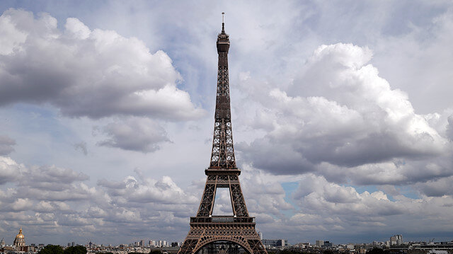 A general view shows the Eiffel Tower as she gets ready to re-open to the public following the coronavirus outbreak, in Paris, France, June 17, 2020
