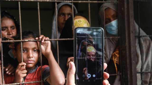 File photo: Indonesia provides temporary shelter for stranded Rohingya
