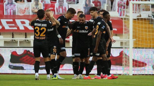 Sivasspor - Kayserispor: 0-2