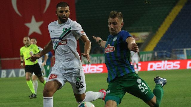 Gol düellosunda kazanan çıkmadı: Rizespor ile Denizlispor berabere kaldı