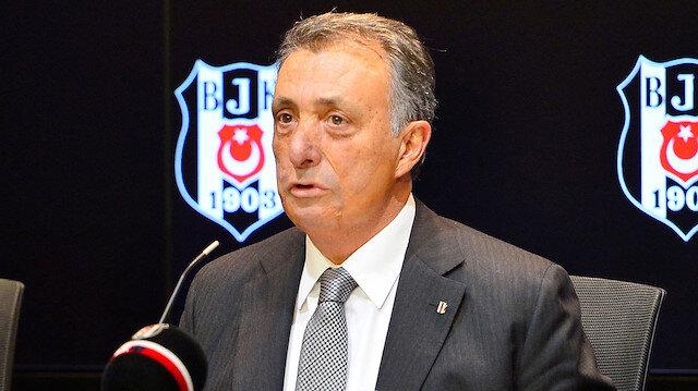 Beşiktaş Kulübü Başkanı Ahmet Nur Çebi