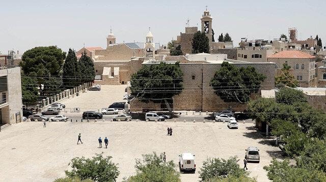 West Bank city of Bethlehem