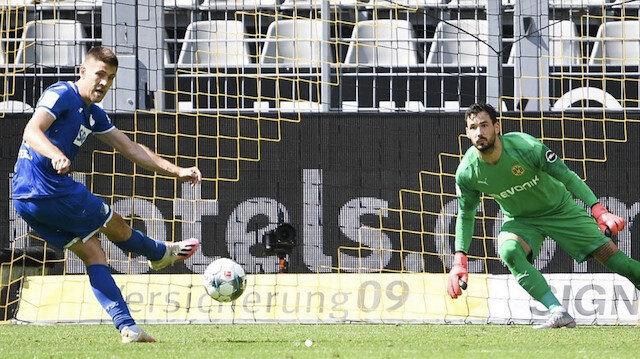 Kramaric'in penaltı vuruşu