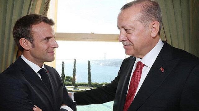 Turkish President Erdoğan and his French counterpart Emmanuel Macron