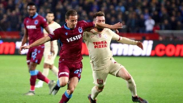 Ligin ilk yarısında Trabzon'da oynanan mücadele 1-1 eşitlikle sona ermişti.