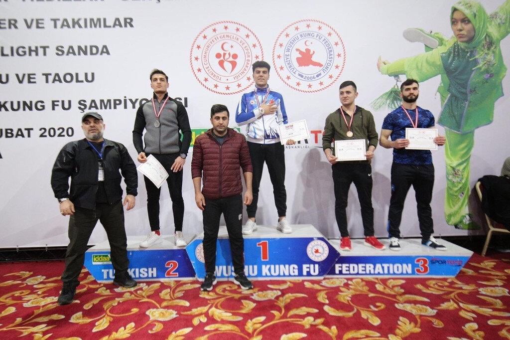 Türkiye Üniversite Sporları Federasyonu tarafından geçen yıl yapılan genel madalya sıralamasında Bartın Üniversitesi 57 madalya ile zirvede yer aldı.