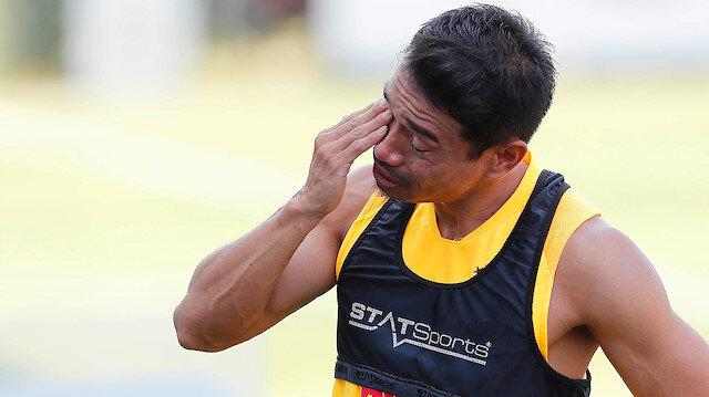 Nagatomo idmanda duygusal anlar yaşadı.