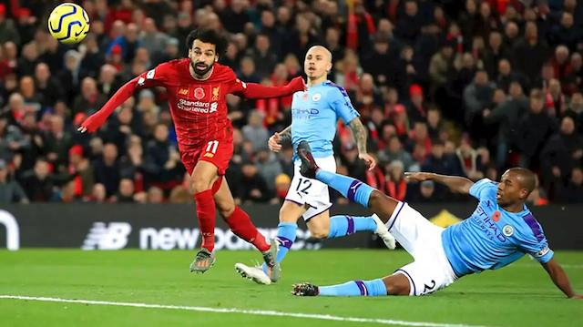 Şampiyon Liverpool Manchester City'e konuk oluyor