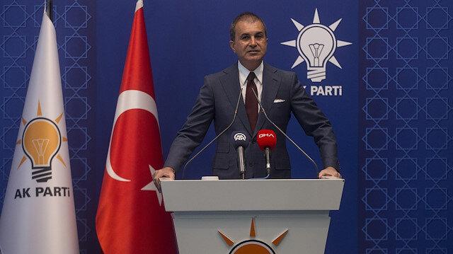 Justice and Development (AK) Party's Spokesman, Omer Celik