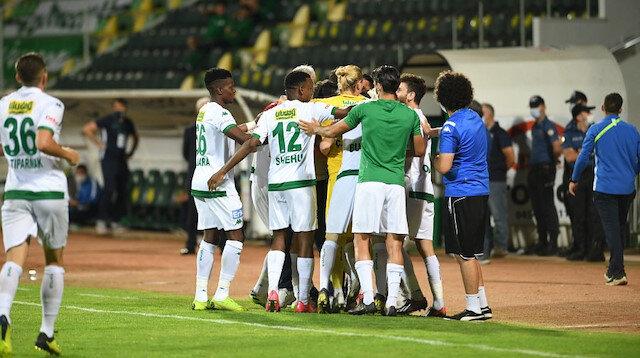 Bursaspor son iki maçından galip ayrıldı.