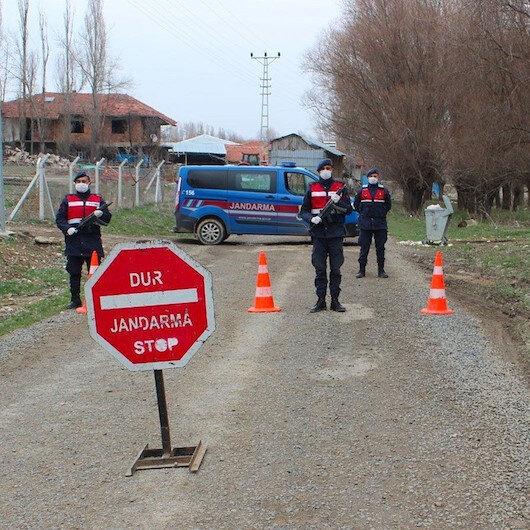 Siirt'te bir köy karantinaya alındı
