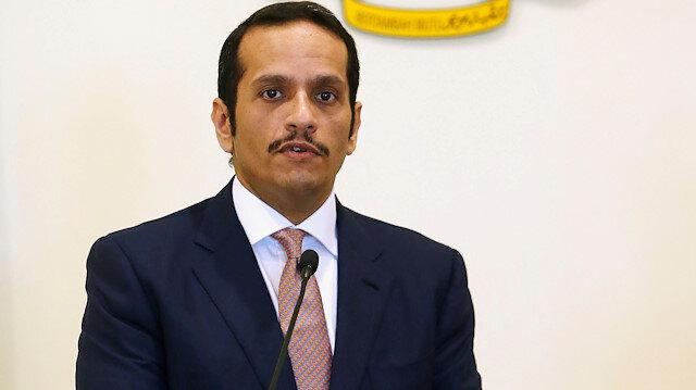 Qatar's Foreign Minister Mohammed bin Abdulrahman Al-Thani